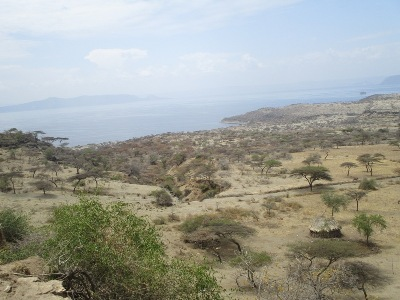 View of the Rift Valley of Southern Ethiopia