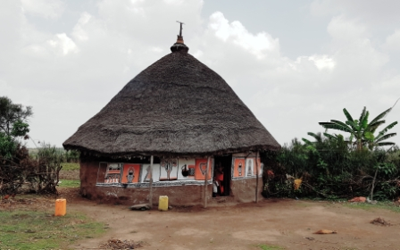 Traditional hut in the Rift Valley part of Ethiopia